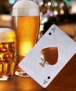 Poker Card Beer Bottle Opener
